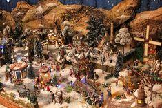 Villages Miniatures de Noël • Afficher le sujet - Enfin le voilà !!!! mon village