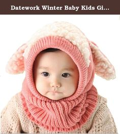 Datework Winter Baby Kids Girls Boys Warm Woolen Coif Hood Scarf Caps Hats. Package Content: 1X Winter Baby Kids Girls Boys Warm Woolen Coif Hood Scarf Caps Hats(NO Retail Box. Packed Safely in Bubble Bag).