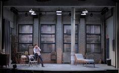 Venus in Fur. Asolo Repertory Theater. Scenic design by Andrew Boyce. 2013