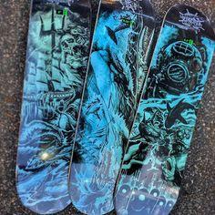 La serie Black Abyss di Creature Skateboards e dell\'artista Kevin Walsh continua con le nuove grafiche...  8.0\