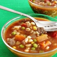 Vegetable Beef Barley Soup by ateaspoonofhappiness