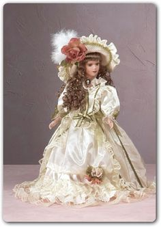 DOLLS ~ Collectible Porcelain Dolls, Fashion Dolls, Victorian Dolls, Cinderella, Wedding Dresses- Enchanting collectible dolls,Anastasia Doll Collection,Fancy Dolls,Porcelain China Doll