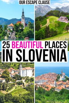Europe Travel Guide, Europe Destinations, Traveling Europe, Budget Travel, Beautiful Places To Visit, Cool Places To Visit, Austria, Slovenia Travel, Visit Slovenia