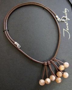 leather cords lead! - JEWELRY AND TRINKETS