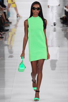 Color POP. Ralph Lauren Spring 2014 Ready-to-Wear