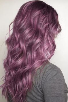 24 Dyed Hairstyles You Need To Try Pink And Purple Hair