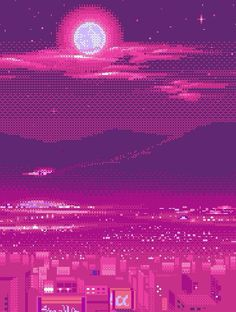 City under our sky. Purple Aesthetic, Aesthetic Anime, Psychedelic Art, Aesthetic Backgrounds, Aesthetic Wallpapers, Cute Wallpapers, Wallpaper Backgrounds, Iphone Wallpaper, Photomontage
