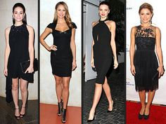 dress black dress LBD Little Black Dress