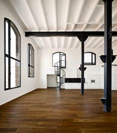 Inspiration for my spiral staircase.