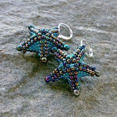 Starfish - náušnice / Zboží prodejce Endy | Fler.cz   How cute are these!