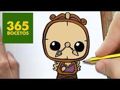 COMO DIBUJAR ding-dong KAWAII PASO A PASO - Dibujos kawaii faciles - How to draw a ding-dong - YouTube