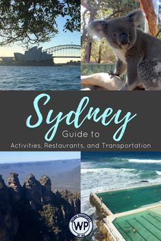 Travel guide to visit Sydney, Australia: Sample Itinerary, advice and recommendations on things to do in Sydney from real travelers. Visit the Harbour Bridge, Blue Mountains, Hunter Valley, Bondi Beach, Coogee Beach, Cockatoo Island, and learn about the best restaurants and how to get around.| wornpassports.com