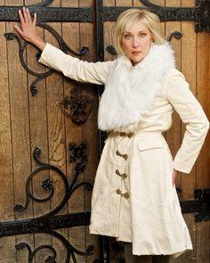 Stunning White Coat-Exclusively made Size:10-12 Model: Janice Bryant Photographer: PixBeat Photo