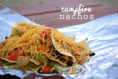 Oleander and Palm: Campfire Nachos <-- not grain free but maybe a good splurge.