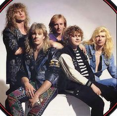 Def Leppard - my all-time favorite 80s band.  Still love them!