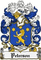 Peterson Coat of Arms / Peterson Family Crest