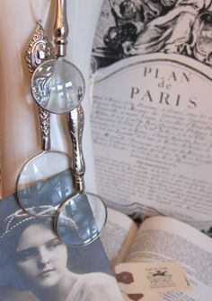 Magnifying Glass Necklaces, Call to Post Vintage, Kentucky