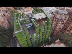 Colombie : le plus grand immeuble vert au monde, les jardins suspendus de Bogota