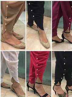 """Shop this tulip pents only on """"kennis-designer studio"""" We ship worldwide. Contact us on : 08866222163 For more details send hi on this nd. Shop now. Plazzo Pants, Salwar Pants, Trouser Pants, Pajama Pants Pattern, Salwar Pattern, Kurti Patterns, Tulip Pants, Kurti Sleeves Design, Salwar Suits Party Wear"""
