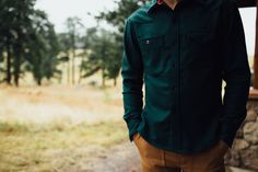 Topo Designs Wool Shirt.
