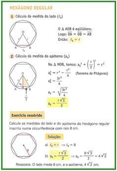 Geometria - Polígonos Regulares - Parte II - Matemática Muito Fácil