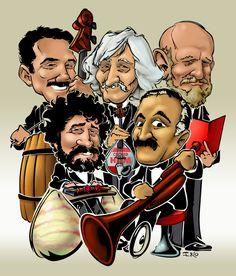 Los recitales de Les Luthiers recorrieron el mundo con el idioma universal del humor y la música. Aunque su obra es esencialmente en español, los osados juglares se ha atrevido con el inglés.