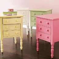 pastel painted furniture - Google Search