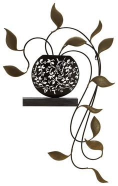 Fetco Home Décor Carolyn Plant Wall Art