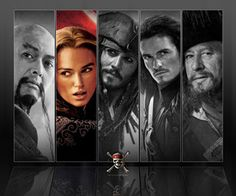 POTC: At World's End I dont like how Elizabeth is in color but not the rest. I have nothing against her but they should have done all black and white or all color