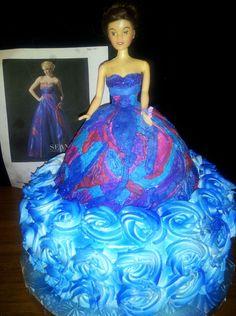 Princess Prom Cake
