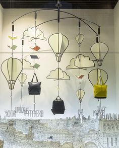 """LA RINASCENTE, Milan, Italy, """"Your unique identity on the move by Moleskine World"""", pinned by Ton van der Veer"""