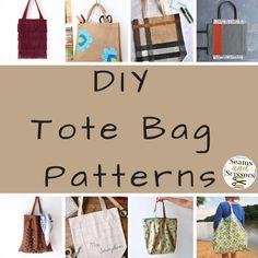 What We Loved This Week: 15 DIY Tote Bag Patterns
