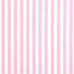 pale pink white striped Timeless Treasures fabric USA