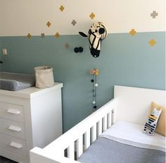Babykamer Baby Room Art, Baby Boy Rooms, Baby Bedroom, Baby Room Decor, Girl Room, Baby Room Design, Nursery Inspiration, Nursery Neutral, Baby Love