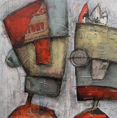 """""""Tall Man Story"""", 19 x 20 - Belfi"""