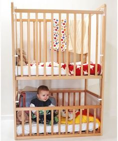 1000 images about small space innovations on pinterest for Double decker crib