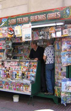 Kiosco de diarios | San Telmo | Argentina