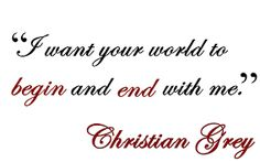 Image result for christian grey quotes