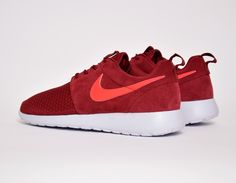 #Nike Roshe Run Winter Wmns Burgundy #sneakers