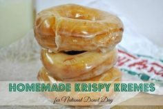 Want to bring the amazingness of Krispy Kreme Glazed Doughnuts home? You are two easy steps away from doing so!