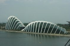 Flower domes, Marina Bay in Singapore 2012