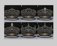 so far there have been half a dozen variations to the Delhi Durbar tiara at various times since 1911.