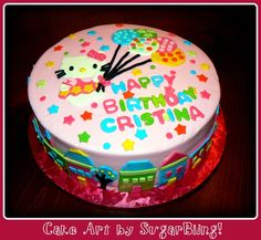 hello kitty birthday cake - Google Search