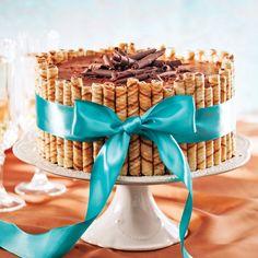 Un gâteau simple à préparer pour une table de Noël à faire rêver!