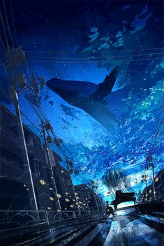 Anime Backgrounds Wallpapers, Anime Scenery Wallpaper, Animes Wallpapers, Wallpaper Desktop, Fantasy Art Landscapes, Fantasy Landscape, Landscape Art, Fantasy Concept Art, Fantasy Artwork