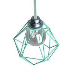 The contemporary style and simple lines of the metal Diamond cage lampshade make it perfect for a wide variety of settings and interior design styles. Cage Pendant Light, Pendant Lamp, Pendant Lighting, Fabric Lampshade, Lampshades, Decorative Lamp Shades, Copper Metal, Light Installation, Modern Chandelier