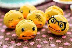 Ducky macarons