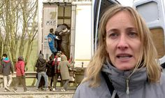 """Outrage as British charity in Calais says truckers attacked by migrants should CHANGE JOBS  A BRITISH charity championing Calais migrants has sparked outrage after telling truckers who suffer violent attacks at the hands of refugees their plight is """"not the end of the world"""" and suggesting they simply change jobs.  By NICK GUTTERIDGE PUBLISHED: 08:06, Thu, Jan 14, 2016  Migrants break into a truck in Calais"""