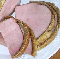 Baked Ham in Rye Crust   (good Polish recipe)