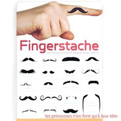 Draw on your finger, place finger beneath nose, conjure up your best foreign accent, and go to town with an entertaining performance! ha